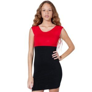 American Apparel Colourblock Bodycon Dress